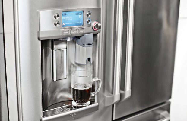 GE introduces Keurig in Fridge